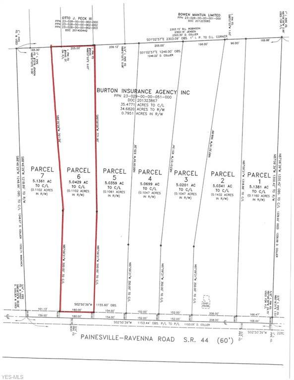 Lot 6 State Route 44 #6, Mantua, OH 44255 (MLS #4056644) :: RE/MAX Edge Realty