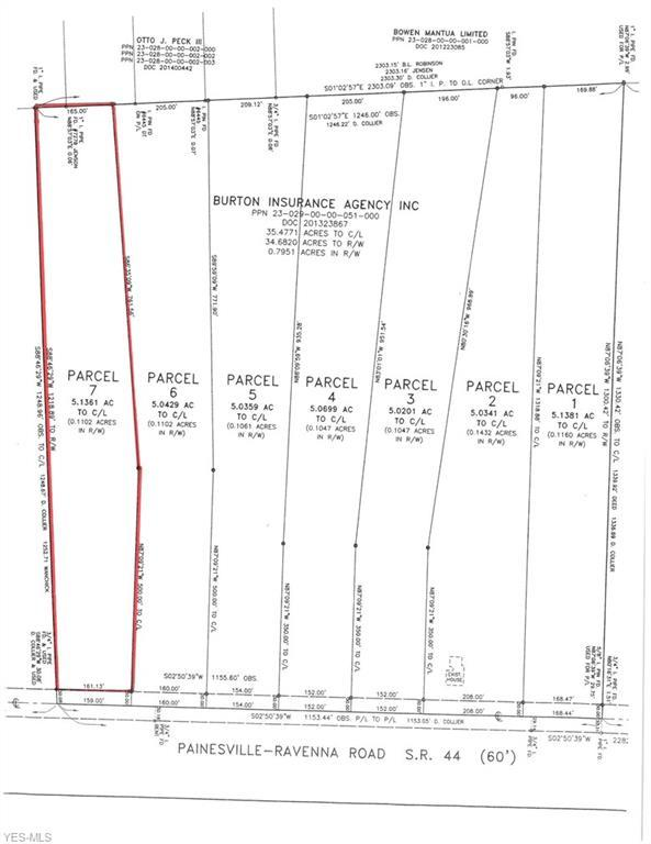 Lot 7 State Route 44 #7, Mantua, OH 44255 (MLS #4056647) :: RE/MAX Edge Realty