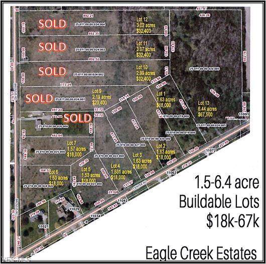 V/L 3 Center Road, Garrettsville, OH 44231 (MLS #3849256) :: The Art of Real Estate