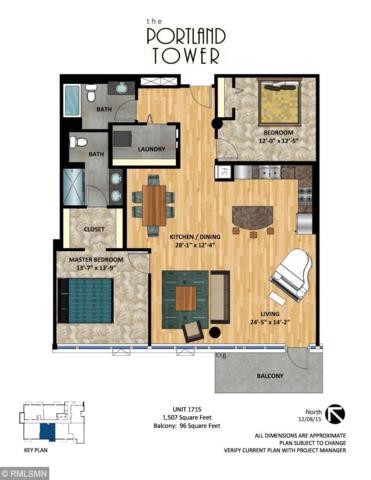 740 Portland Avenue #1715, Minneapolis, MN 55415 (#5234212) :: House Hunters Minnesota- Keller Williams Classic Realty NW