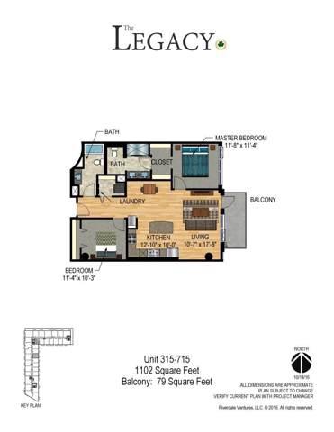 1240 2nd Street S #715, Minneapolis, MN 55415 (#5295912) :: House Hunters Minnesota- Keller Williams Classic Realty NW
