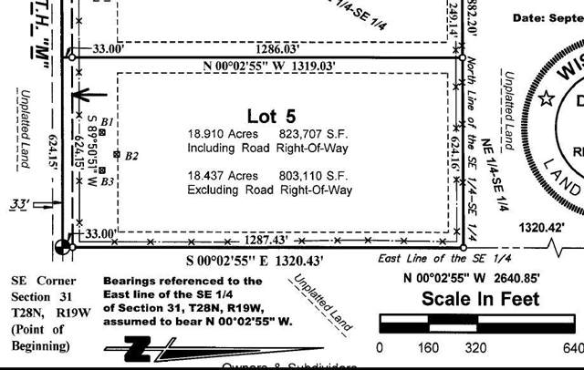 Lot 5 XXX County Road M, Troy Twp, WI 54022 (#5321620) :: HergGroup Northwest