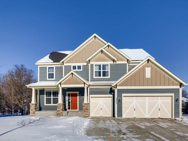 5953 Woodcrest Way, Shoreview, MN 55126 (#5335963) :: Bre Berry & Company