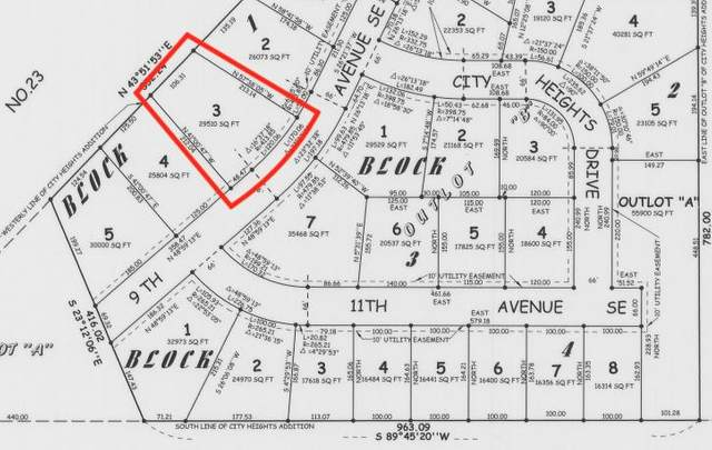 Lot 3 Blk 1 9th Avenue SE, Willmar, MN 56201 (#5489509) :: Bre Berry & Company