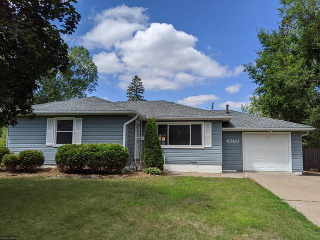 6362 Baker Avenue NE, Fridley, MN 55432 (#5623771) :: The Pietig Properties Group