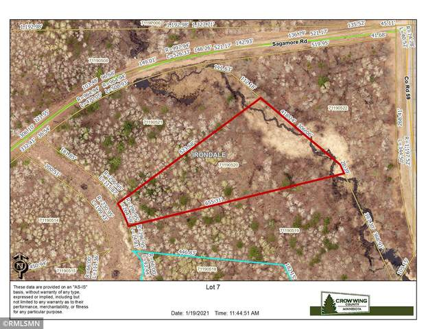 TBD Lot 7 Nature Trail, Ironton, MN 56455 (#5702955) :: Holz Group