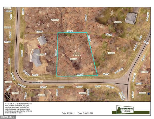 TBD Lot 2 Foothills Drive, Cuyuna, MN 56444 (#5708031) :: The Smith Team