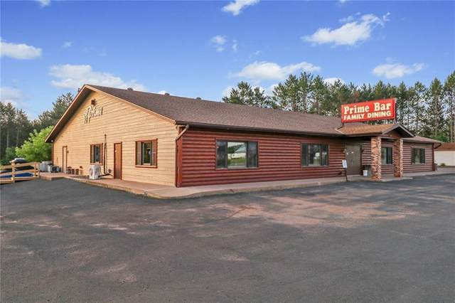 N7294 Service Road, Trego, WI 54888 (#5712387) :: Lakes Country Realty LLC