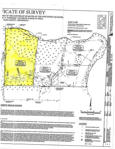 xxxx Tract 1 Baby Lake, Hackensack, MN 56452 (#5713128) :: Lakes Country Realty LLC