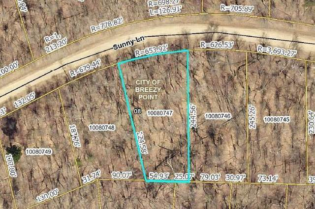 TBD Lot 6 Sunny Lane, Breezy Point, MN 56472 (#5713274) :: Twin Cities Elite Real Estate Group | TheMLSonline