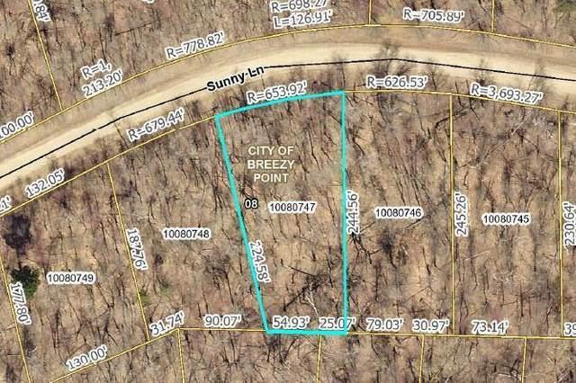 TBD Lot 6 Sunny Lane, Breezy Point, MN 56472 (#5713274) :: The Pietig Properties Group