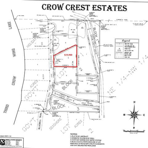 Lot 5 Blk 2 Bald Eagle Trail, Nevis, MN 56467 (MLS #5747393) :: RE/MAX Signature Properties