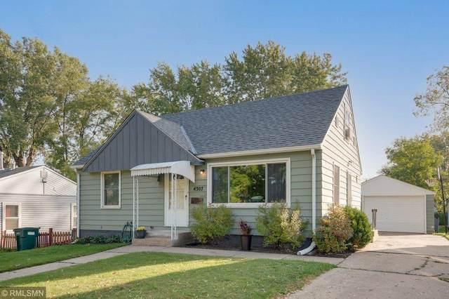 4307 Jefferson Street NE, Columbia Heights, MN 55421 (#6111070) :: Holz Group