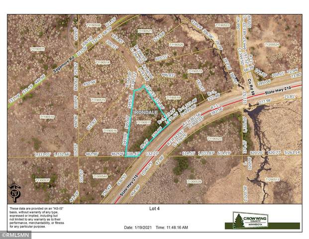 TBD Lot 4 Nature Trail, Ironton, MN 56455 (#5702943) :: Bos Realty Group