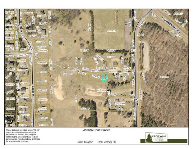 TBD Lot 6 Jericho Road, Baxter, MN 56425 (MLS #5751057) :: RE/MAX Signature Properties