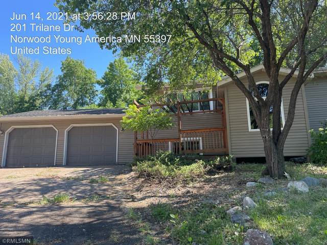 201 Trilane Drive, Norwood Young America, MN 55397 (#6009058) :: The Odd Couple Team