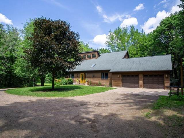 17322 County Highway J, Lafayette Twp, WI 54729 (#6023278) :: Lakes Country Realty LLC