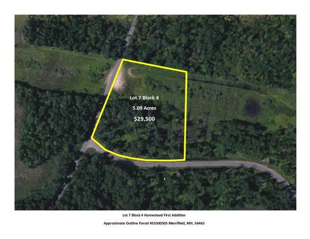 L7B4 Rebel Road, Merrifield, MN 56465 (#5505938) :: The Pietig Properties Group