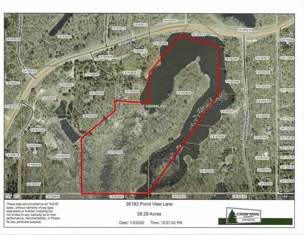 36182 Pond View Lane, Crosslake, MN 56442 (#5707352) :: The Pietig Properties Group