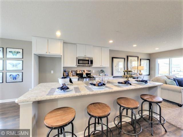 676 Eagle Court, Lino Lakes, MN 55014 (#5233247) :: House Hunters Minnesota- Keller Williams Classic Realty NW