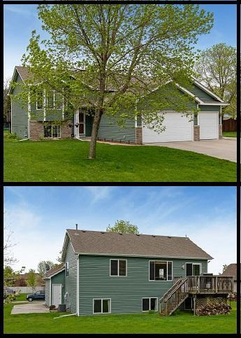 9738 44th Street NE, Saint Michael, MN 55376 (#5235711) :: House Hunters Minnesota- Keller Williams Classic Realty NW