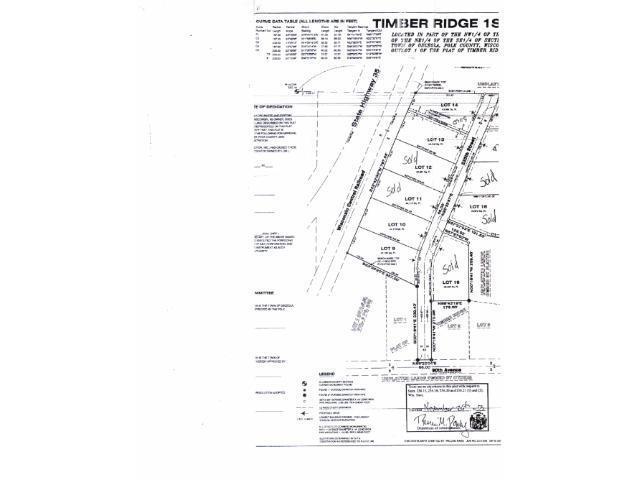 Lot 10 235th Street, Osceola Twp, WI 54009 (#4695231) :: The Snyder Team