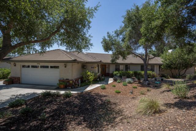 696 Hillside Drive, Solvang, CA 93463 (MLS #1701368) :: The Epstein Partners
