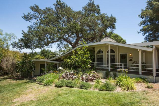 3025 W Highway 154, Los Olivos, CA 93441 (MLS #18000773) :: The Epstein Partners