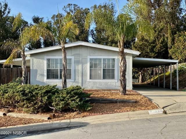 286 Trevino Drive, Nipomo, CA 93444 (MLS #21000107) :: The Epstein Partners