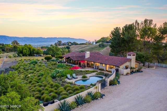 2789 Spring Canyon Road, Santa Ynez, CA 93460 (MLS #21001235) :: The Epstein Partners