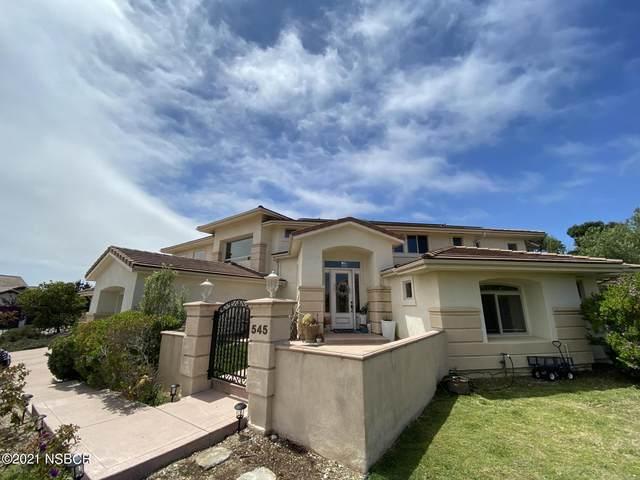 545 Dos Cerros, Arroyo Grande, CA 93420 (MLS #21001477) :: The Epstein Partners