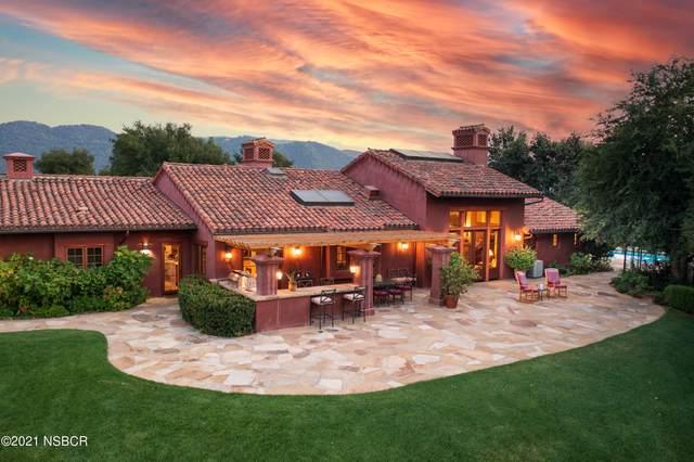 4066 Paseo Poco, Santa Ynez, CA 93460 (MLS #21001993) :: The Epstein Partners