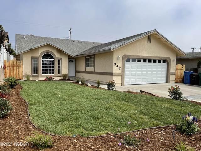 342 S 4th Street, Grover Beach, CA 93433 (MLS #21002085) :: The Epstein Partners