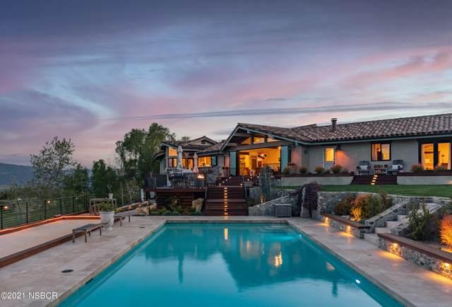 2968 Canada Este Road, Santa Ynez, CA 93460 (MLS #21000680) :: The Epstein Partners