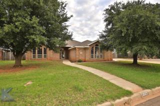 6417 Todd Run, Abilene, TX 79606 (MLS #13535565) :: The Harbin Properties Team