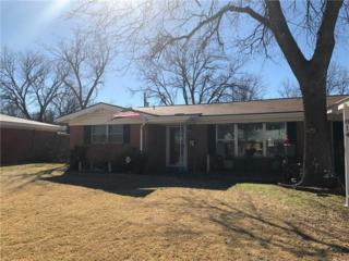 814 Crestwood Drive, Abilene, TX 79603 (MLS #13542488) :: The Harbin Properties Team