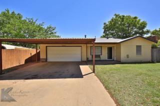 3241 Wenwood Road, Abilene, TX 79606 (MLS #13569746) :: The Harbin Properties Team