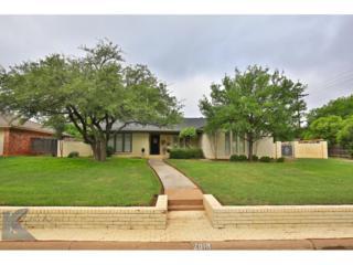 2018 Brentwood Drive, Abilene, TX 79605 (MLS #13580597) :: The Harbin Properties Team