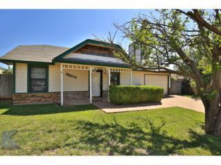 3809 Kellye Court, Abilene, TX 79606 (MLS #13582681) :: The Harbin Properties Team