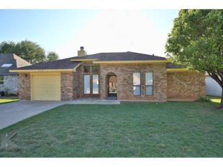 7318 Clariece Drive, Abilene, TX 79606 (MLS #13583550) :: The Harbin Properties Team