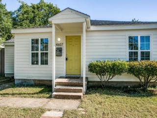 4607 Stigall Drive, Dallas, TX 75209 (MLS #13594203) :: MLux Properties