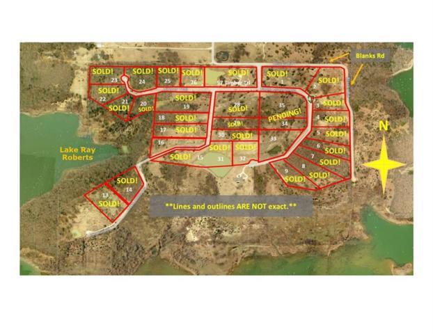 33 Eagle Cove Circle, Tioga, TX 76271 (MLS #12056386) :: Team Hodnett