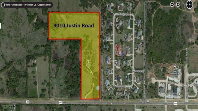9010 Justin Road, Copper Canyon, TX 75077 (MLS #13518232) :: RE/MAX Elite