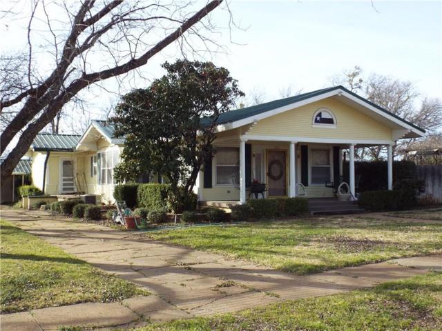 1207 S Mulberry Street, Eastland, TX 76448 (MLS #13547090) :: Team Hodnett