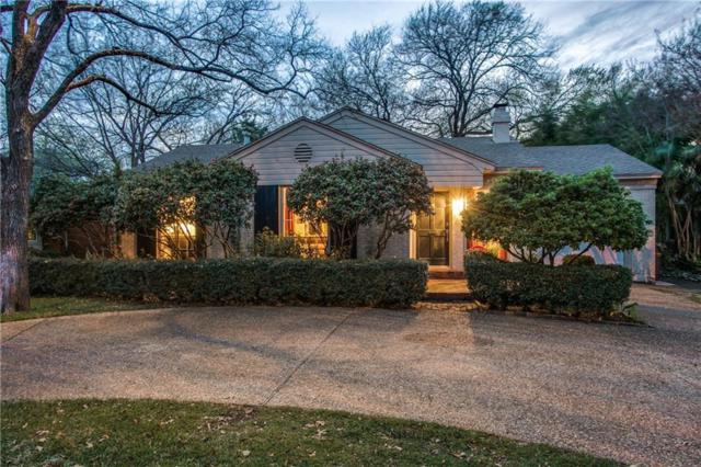 8407 Blue Bonnet Road, Dallas, TX 75209 (MLS #13552849) :: Frankie Arthur Real Estate