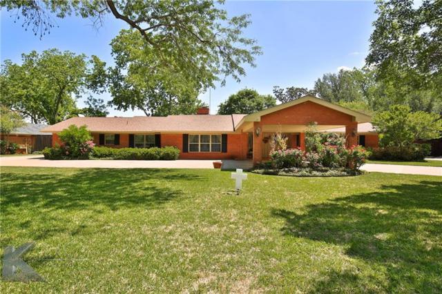 1417 Woodridge Drive, Abilene, TX 79605 (MLS #13583882) :: Team Hodnett