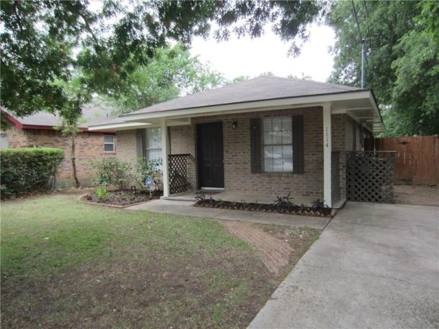 1114 E Mulberry Street, Denton, TX 76205 (MLS #13586385) :: Team Tiller