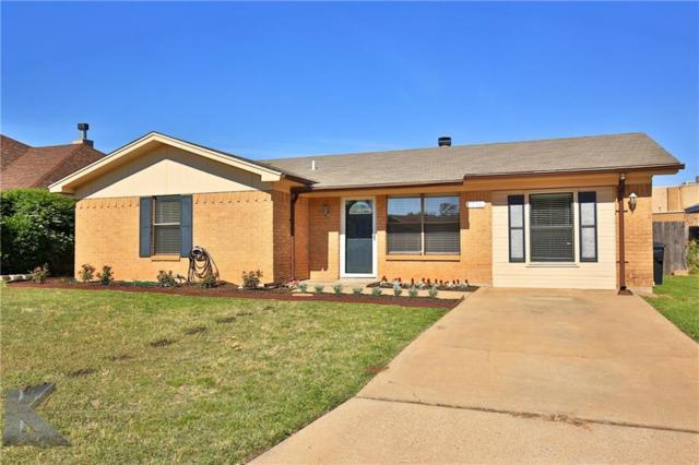 7958 White Boulevard, Abilene, TX 79606 (MLS #13611257) :: Team Hodnett