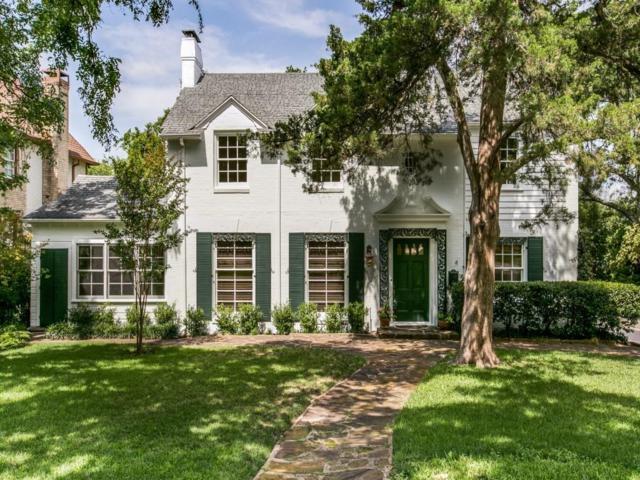 1033 Lausanne Avenue, Dallas, TX 75208 (MLS #13619829) :: Real Estate By Design