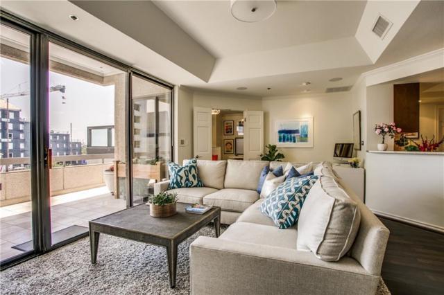 5909 Luther Lane #703, Dallas, TX 75225 (MLS #13620463) :: Robbins Real Estate